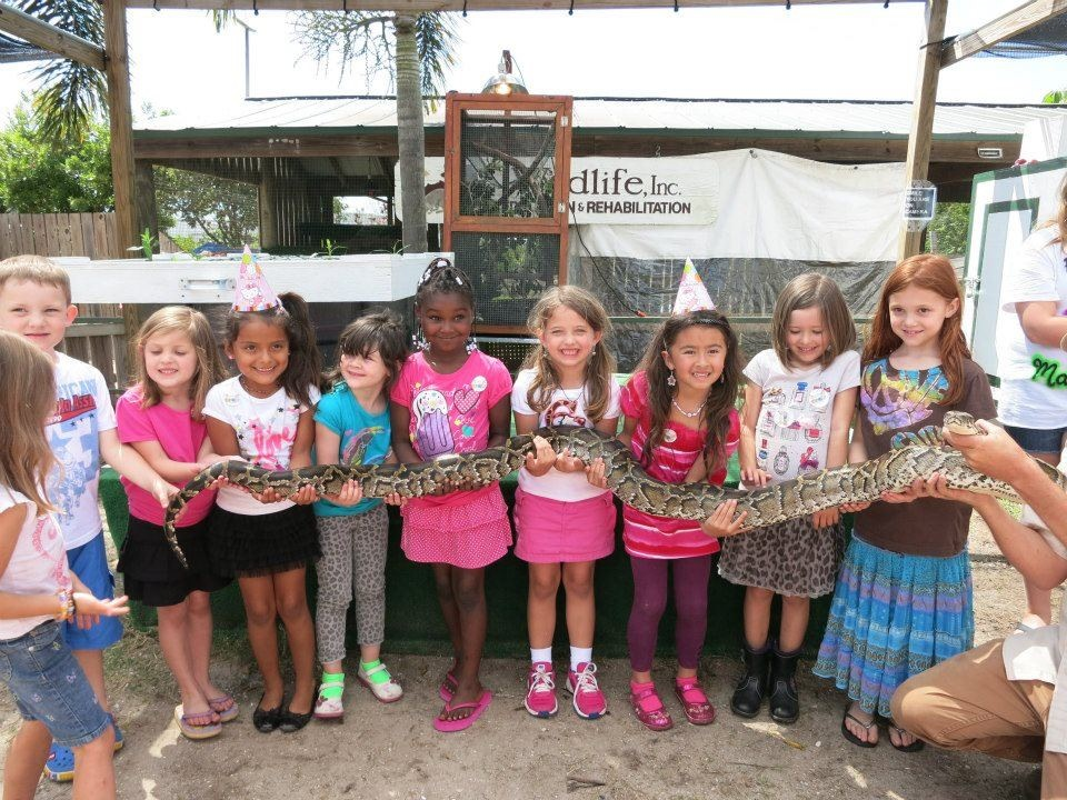 Olivias Birthday Party With Snake