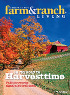 Mixon in Oct/Nov Farm & Ranch Living Magazine